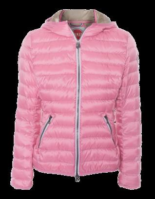 Colmar Originals Contrast Zip Hood Pink