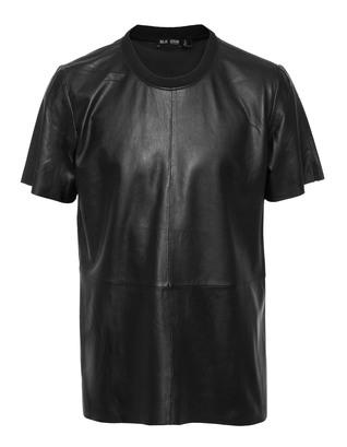 BLK DNM  Leather Black 12