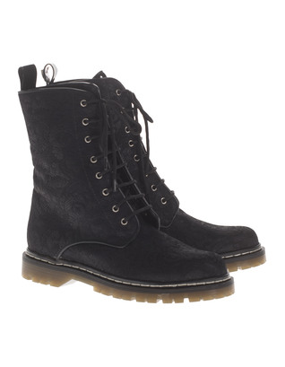 THE NO ANIMAL BRAND Lace Up Black