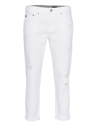 AG Jeans The Ex-Boyfriend Slim White Restored