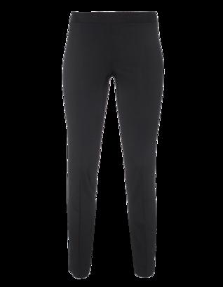 DKNY Cropped Wool Stretch Black