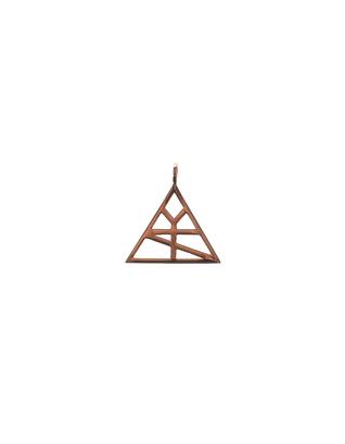ART YOUTH SOCIETY AYS Logo Hanger mini Gold