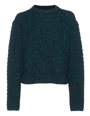 PROENZA SCHOULER Heavy Crew Wool Green