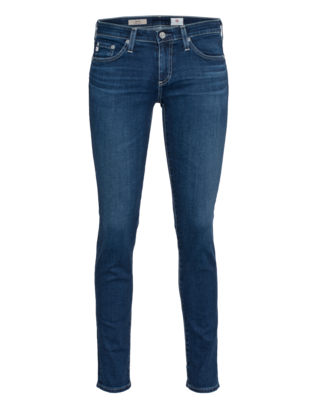 AG Jeans The Stilt Cigarette Leg Deep Blue