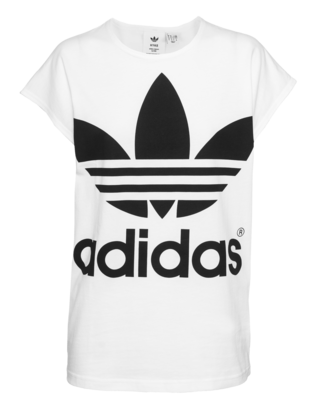 ADIDAS ORIGINALS BY HYKE Label Lettering White
