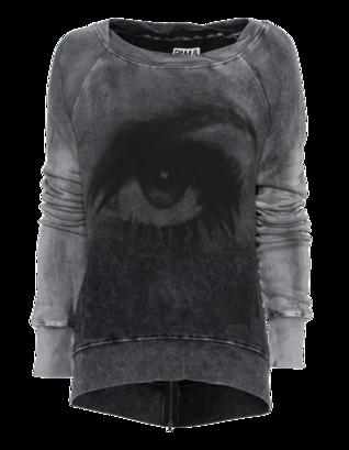 Pam&Gela Comic Eye Black Grey