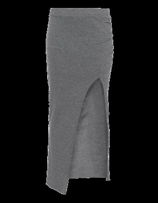 Pam&Gela Long Gathering Grey