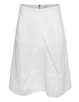 MiH JEANS Broderie White
