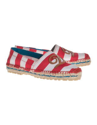 DSQUARED2 Flat Canvas Bianco Rosso