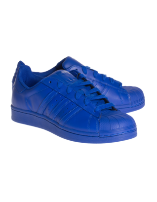 ADIDAS X PHARRELL WILLIAMS Superstar Supercolor Bold Blue