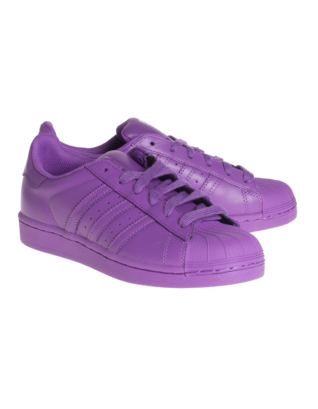 ADIDAS X PHARRELL WILLIAMS Superstar Supercolor Ray Purple