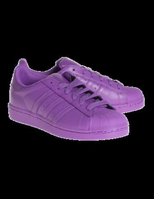 ADIDAS X PHARRELL WILLIAMS Superstar Supercolor Ray Purple