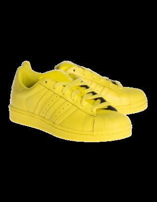ADIDAS X PHARRELL WILLIAMS Superstar Bright Yellow