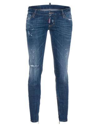 DSQUARED2 Skinny Short Crotch Tight Bottom Blue