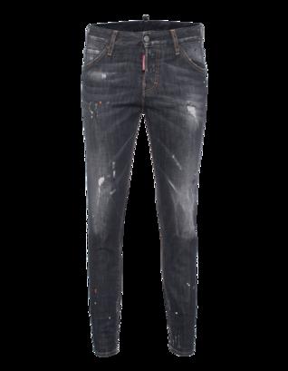DSQUARED2 Long Crotch Dirt Used Dark Grey