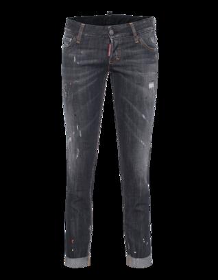 DSQUARED2 Pat Short Crotch Tight Bottom Grey