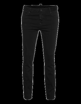 DSQUARED2 Back Zip Clean Black