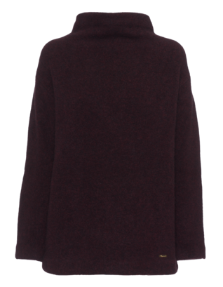 DSQUARED2 Large Cozy Collar Burgundy