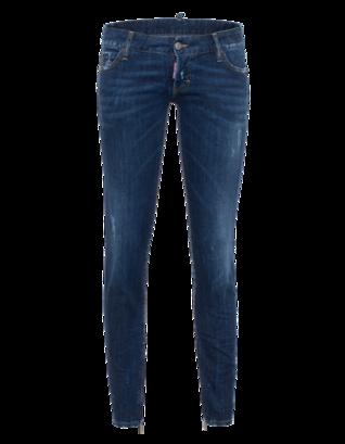 DSQUARED2 Jean Short Crotch Tight Bottom Blue