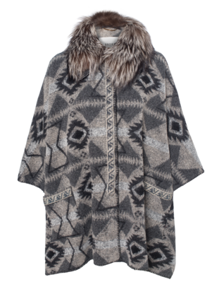 BAZAR DELUXE Ethno Luxe Patterned Grey