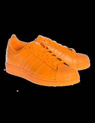 ADIDAS X PHARRELL WILLIAMS Supercolor Bright Orange