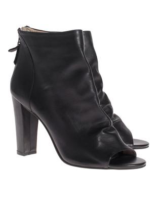 STEFFEN SCHRAUT Ankle Heel Slouchy Black