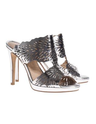 STEFFEN SCHRAUT Cut-Out Heel Silver