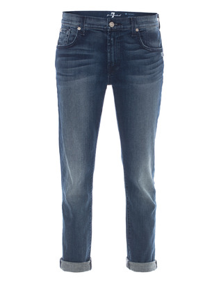 SEVEN FOR ALL MANKIND Relaxed Skinny Lerouche Vintage Blue