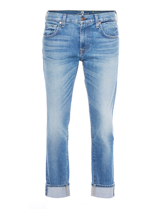 7 FOR ALL MANKIND Relaxed Skinny Super Heritage Light Blue