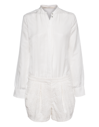 GIAMBATTISTA VALLI FOR SEVEN FOR ALL MANKIND Lace White