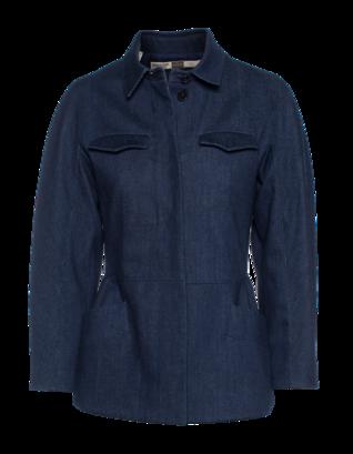 GIAMBATTISTA VALLI FOR SEVEN FOR ALL MANKIND Jacket Rinse