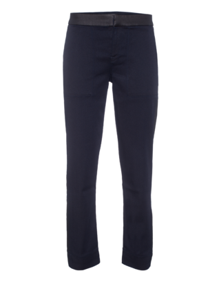7 FOR ALL MANKIND Pieced Chino Luxe Sport Blue Black