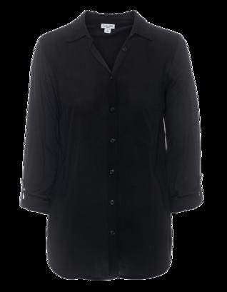 SPLENDID Mix Sleeve Black