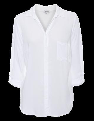 SPLENDID Mix Sleeve White