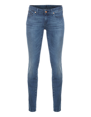 7 FOR ALL MANKIND Olivya Dakota Mid Blue