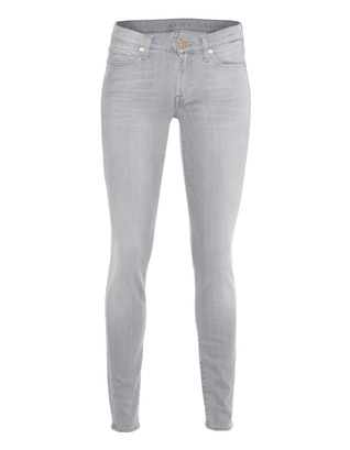 7 FOR ALL MANKIND The Skinny Slim Illusion Summer Grey