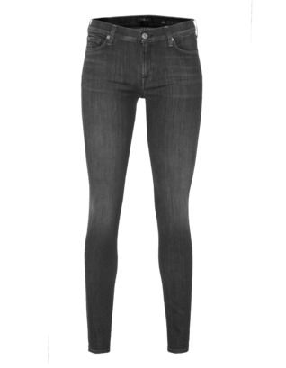 7 FOR ALL MANKIND The Skinny Slim Illusion Onyx Grey