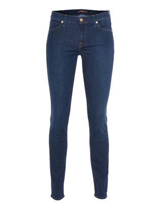 7 FOR ALL MANKIND The Skinny Clean Pocket Boston Blue