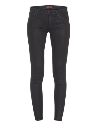 SEVEN FOR ALL MANKIND The Skinny Sadd Le Look Black