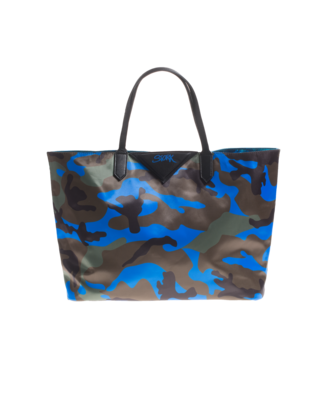 CAMOUFLAGE COUTURE STORK Camo Blue