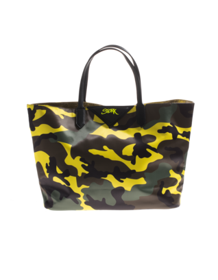 CAMOUFLAGE COUTURE STORK Camo Yellow