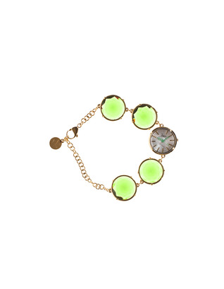 TOYWATCH Toy Candy Neon Lime Stones