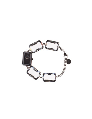 TOYWATCH Toy Candy Clear White Stones