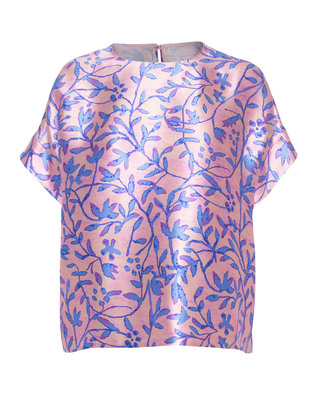 PETER PILOTTO Floral Silk Reef Pink