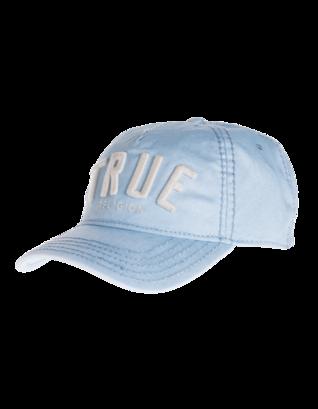 TRUE RELIGION 3D Logo Reflective Coated Light Blue
