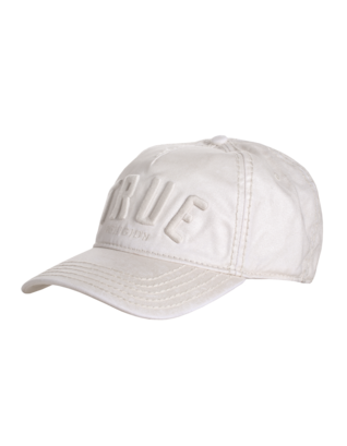 TRUE RELIGION 3D Logo Reflective Coated White