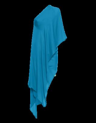 Plein Sud Robe Encolure Asymetrique Bleu