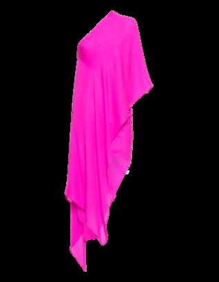 Plein Sud Robe Encolure Asymetrique Pink