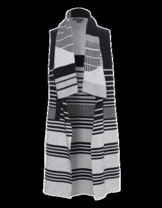 VINCE Graphic Stripe Drape Multi