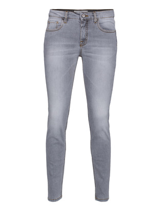 VICTORIA BECKHAM DENIM Ankle Slim Seam Cement